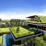 مباني خضراء صديقة للبيئة