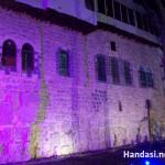 جانب من سور دمشق الأثري