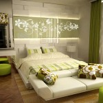 غرفة نوم بألوان مريحة للعين