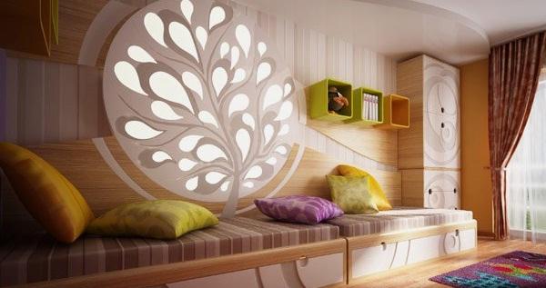 غرفة نوم للأطفال بأسلوب مميز من ستوديو Neopolis