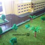 بناء المطبعة مع الحديقة