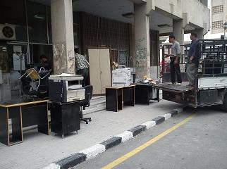 أماكن دوام المعهد التقاني الهندسي بدمشق للفصل الأول 2011-2012